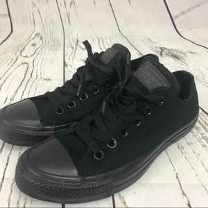 Converse All Star Black Mono Unisex Low blackout